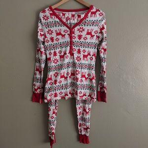 Organic Reindeer Pajamas